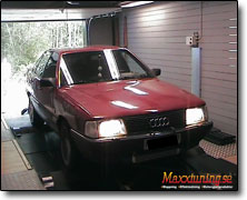 Dynotesting Audi 100 - Orginal ECU