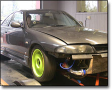 Tuning Nissan RB25 (2500cc) Apexi Power Fc, TB 60, Bensin 95/98