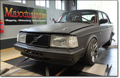tuning 519whp volvo 240 turbo dta s80 pro maxxtuning ab. Black Bedroom Furniture Sets. Home Design Ideas